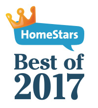 Best of HomeStars 2017 Certificate