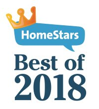 Best of HomeStars 2018 Certificate