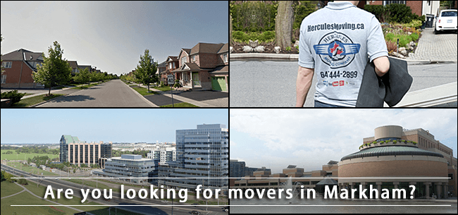 Markham movers in Ontario