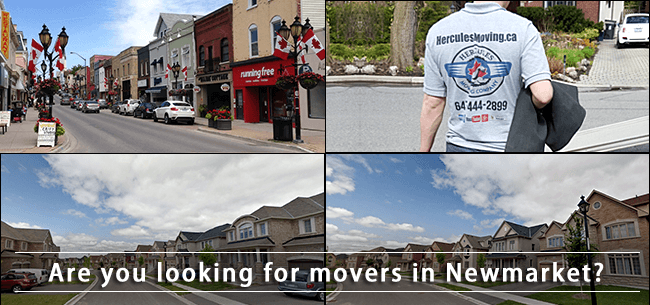Newmarket movers Ontario