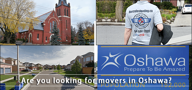 Oshawa movers in Durham Region
