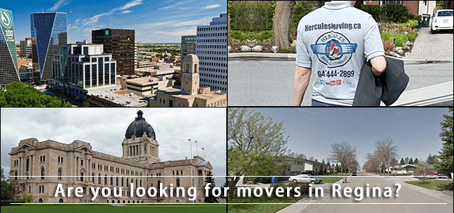Regina movers in Saskatchewan