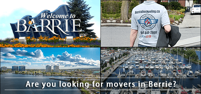Barrie movers Ontario