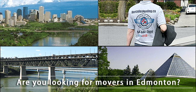 Edmonton movers in Alberta