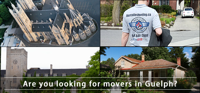 Guelph movers in southwestern Ontario