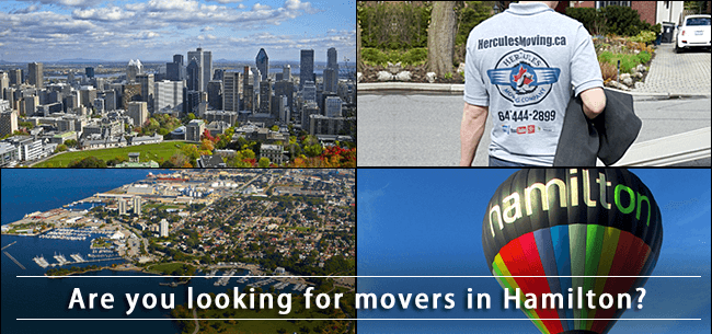 Hamilton movers in Ontario