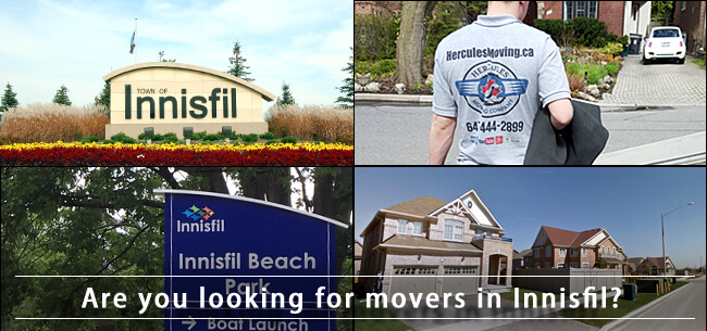 Innisfil movers in Ontario