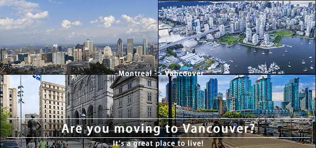 Moving from Montreal to Vancouver to live