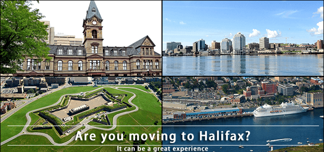 Moving from Toronto to Halifax