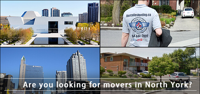 Hercules Movers in North York City of Toronto