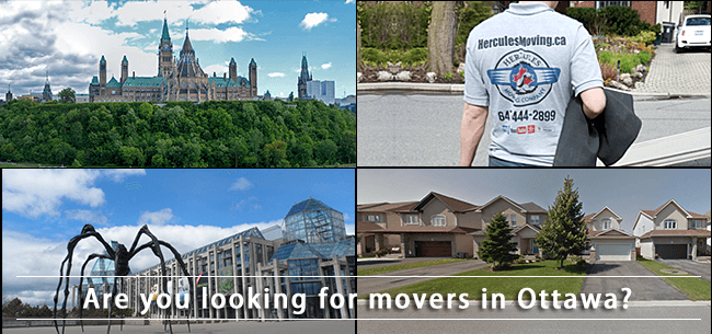 Ottawa movers in Ontario
