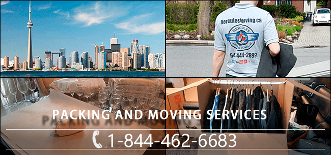 Packing and moving companies in Canada