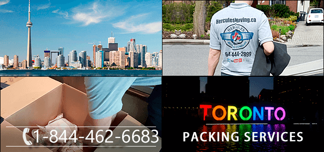 Packing services Toronto, Ontario