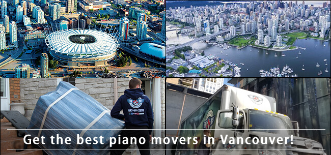 Piano movers Vancouver can offer in British Columbia