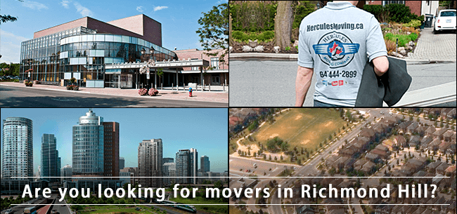 Richmond hill movers in Ontario