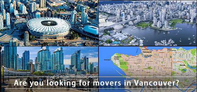 Vancouver movers in British Columbia
